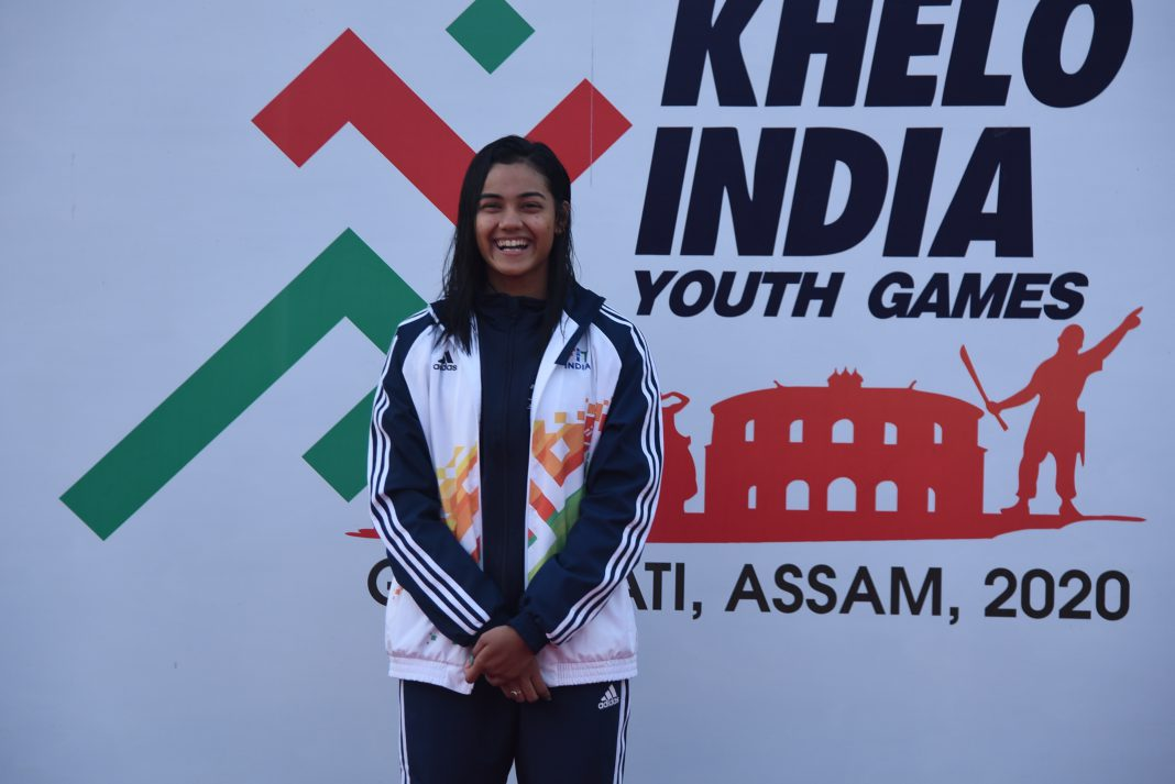 Shivangi Sarma bags third gold