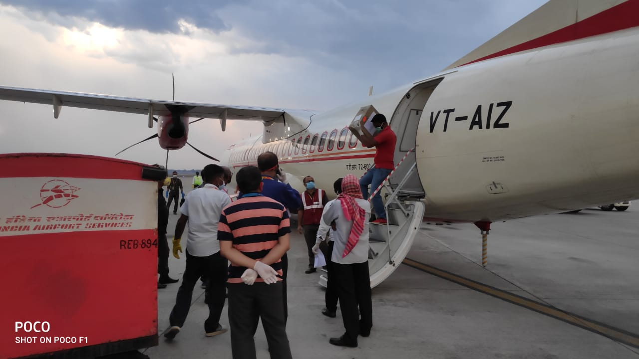 Airports in Northeast helping society