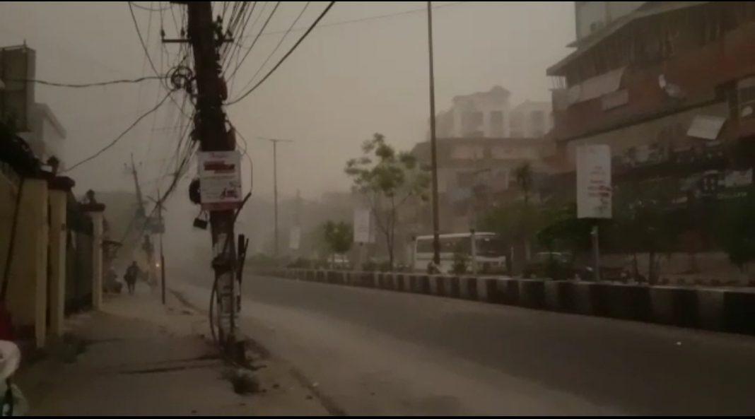Cyclonic storm hit parts of Assam