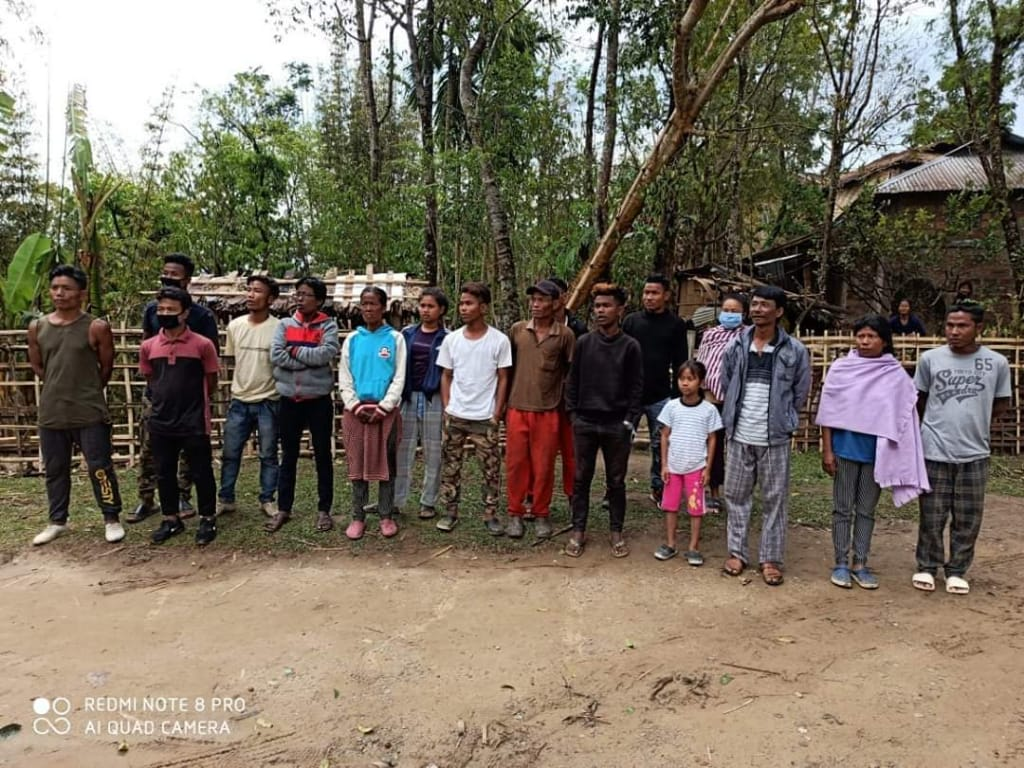 16 arrested for illegaly entering in Manipur