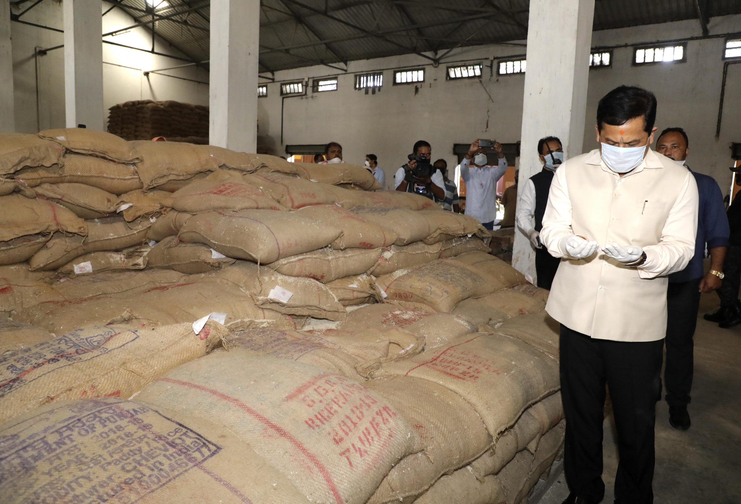 Assam government to provide rice to families