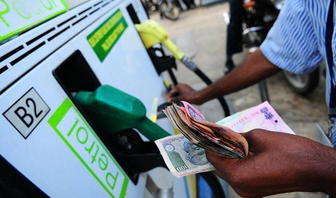 Price hike of Petrol-Diesel in Assam.