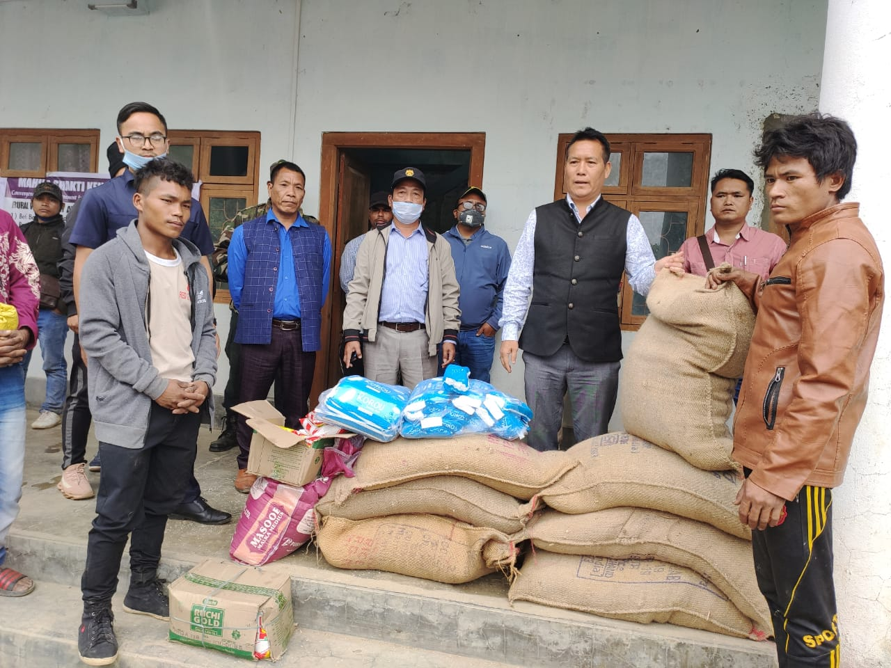 ensure the availability of rice for his people free of cost always