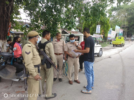 Assam tightened vigilance in bordering areas