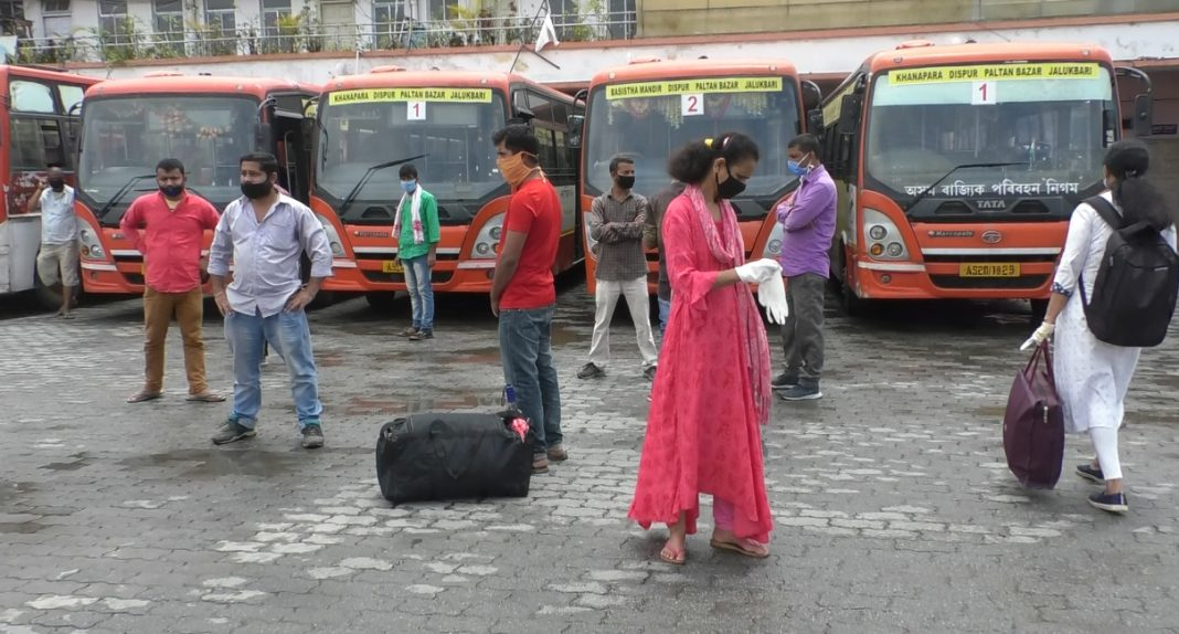 3-day conditional inter-district travel in Assam