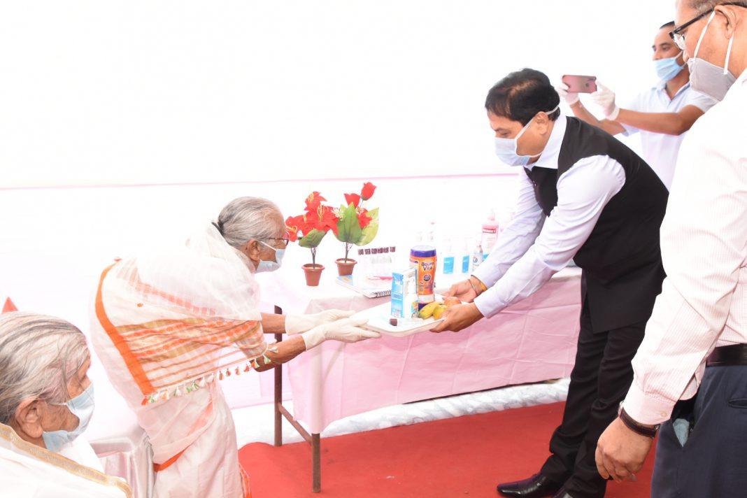 Assam Government puts efforts to help the elderly