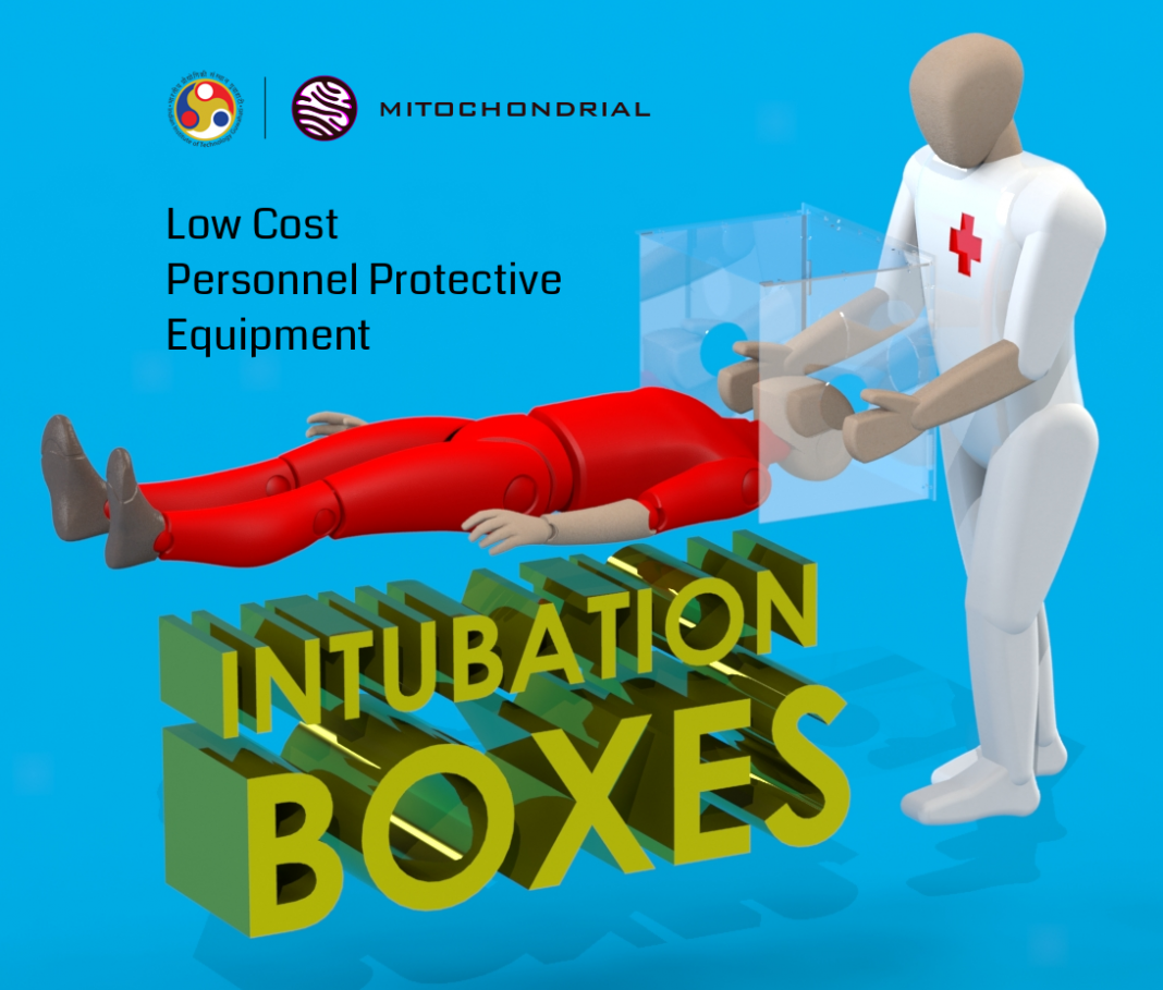 IIT Guwahati students developed low-cost intubation box