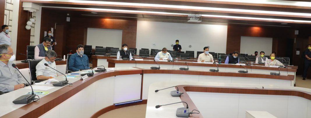 Meeting to discuss about the stranded people of Assam