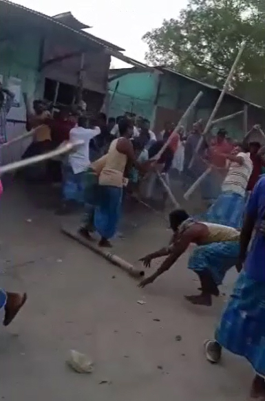 Group clashes in Assam Nagaon district