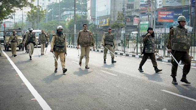 Curfew imposed in Assam from 6 pm to 6 am