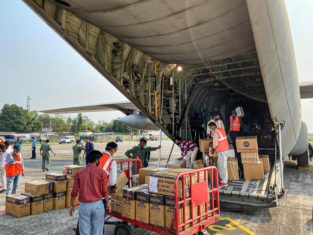 Nagaland receive COVID-19 consignment through airlift