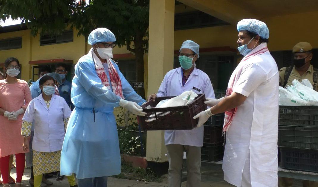 Assam MLA visits hospitals to express gratitude