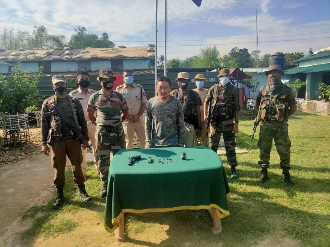 Militant of NSCN nabbed along Assam-Manipur border
