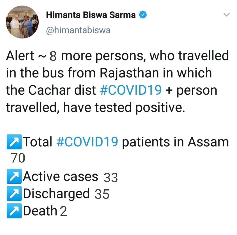 Himanta Biswa Sarma tweet