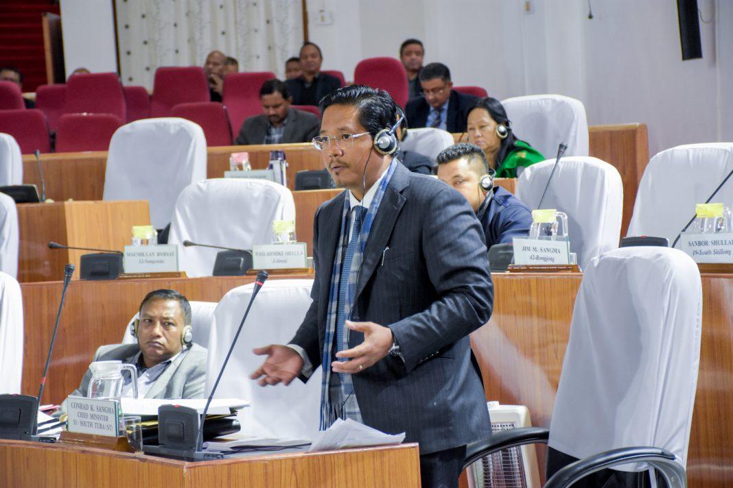 Re-assembled budget session of Meghalaya