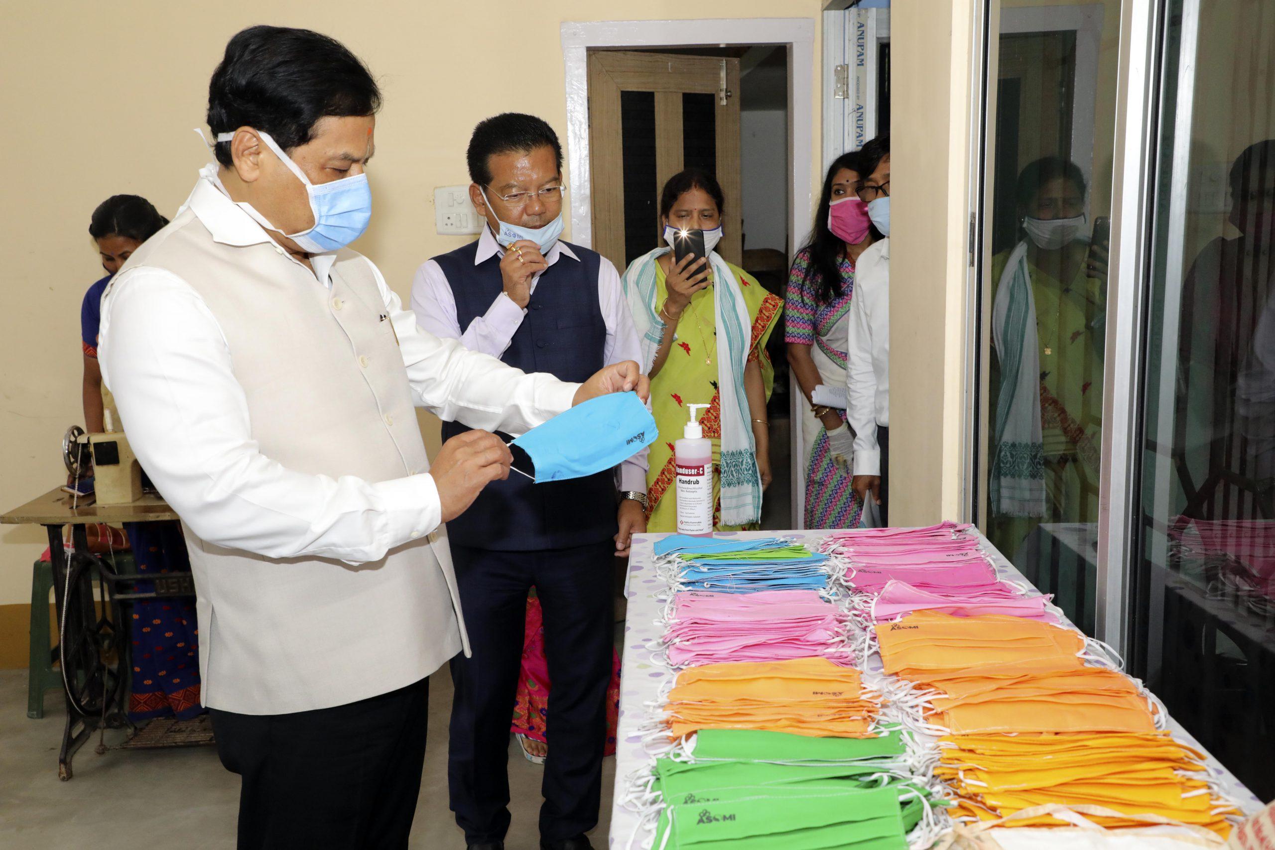 Assam women SHGs produce over 51 lakh masks