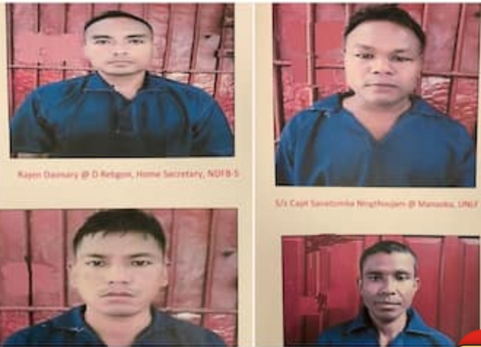 Myanmar handed over wanted insurgents to India