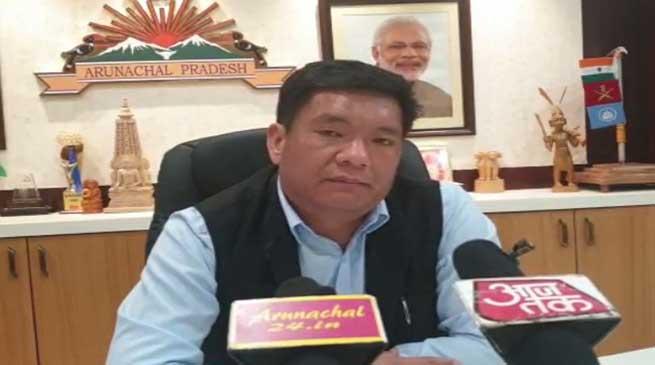 Measures taken by CM Khandu to bring back all Arunachalis