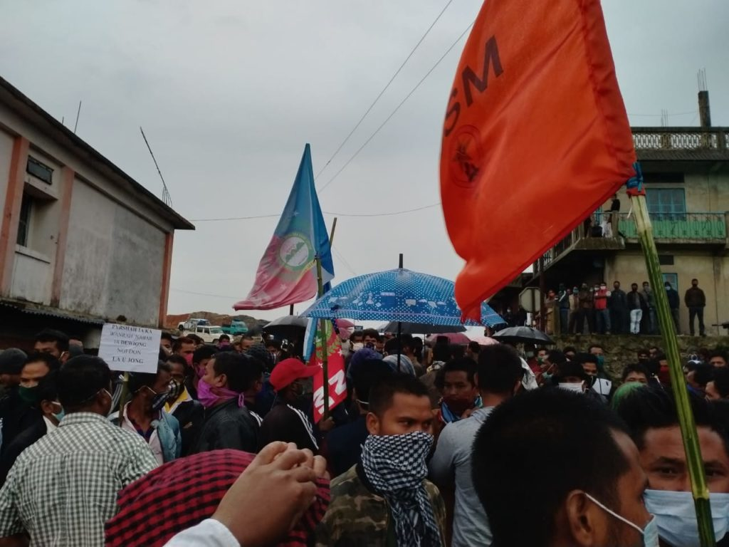 Protests in Assam against center's decision to allow coal mining