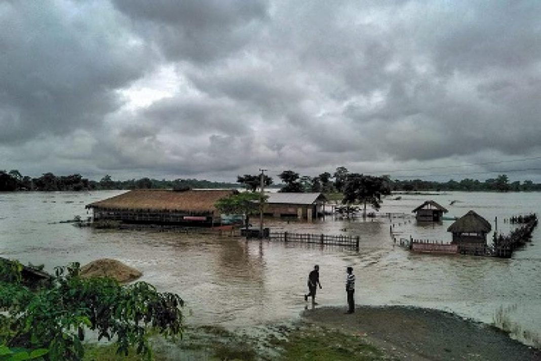 The First wave of flood has hit Assam