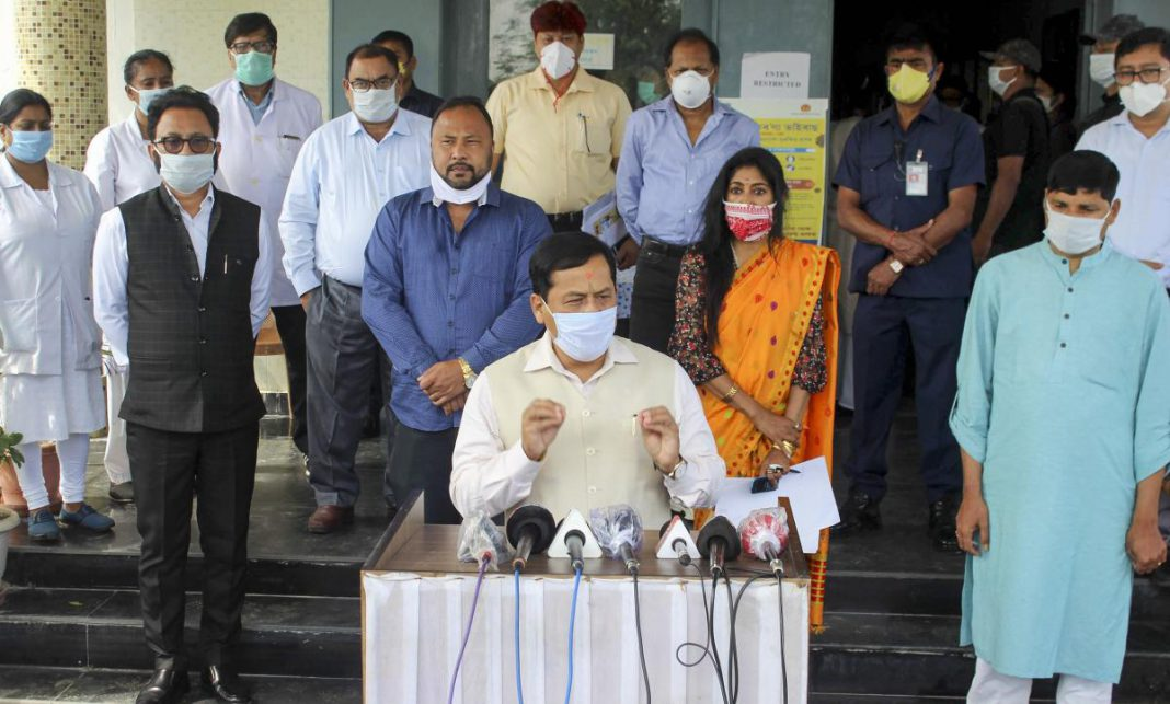 Institutional Quarantine mandatory in Assam