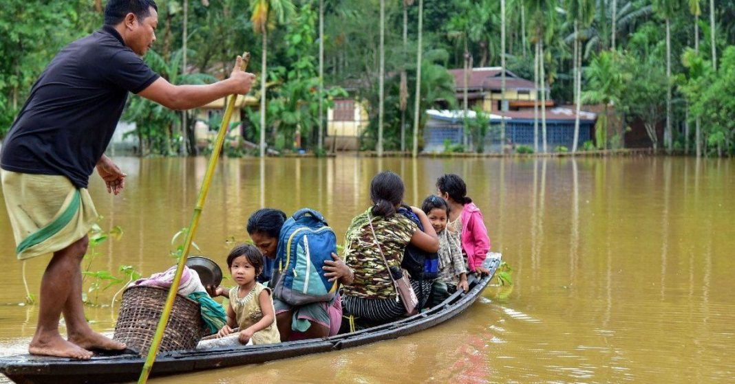 Seven districts affected by floods in Assam