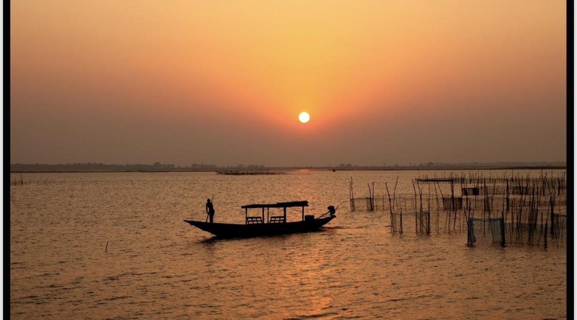 Chilika Lake in Odisha