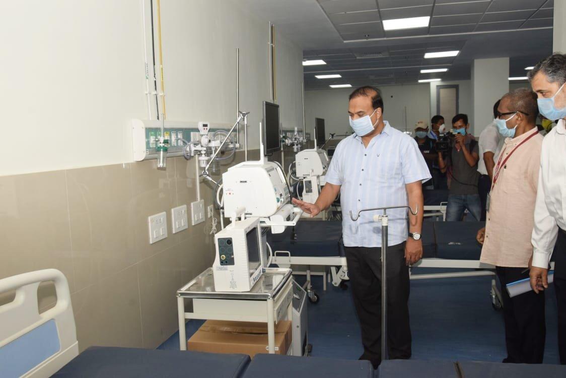 super speciality COVID-19 hospital in Guwahati