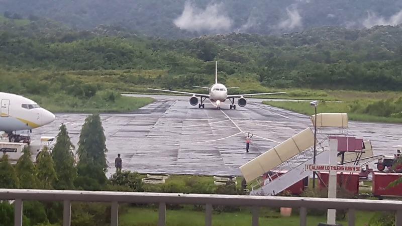 Mizoram Lengpui Airport