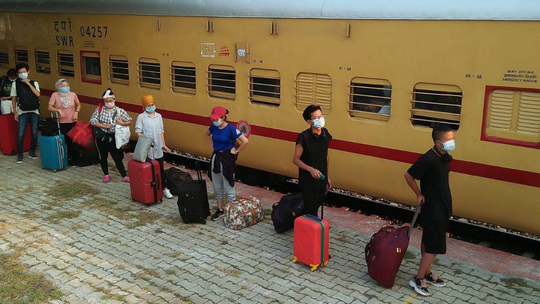 People stranded in Bangalore set to return to Mizoram
