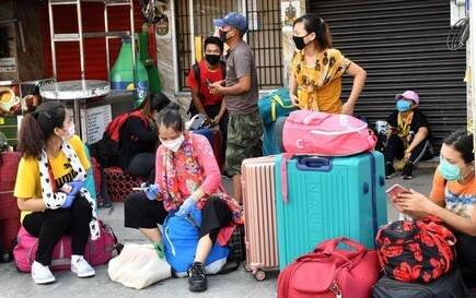 Buses carrying returnees from Maharashtra reach Bairabi