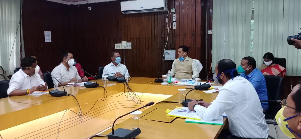 Survey of landslide-prone areas in Assam