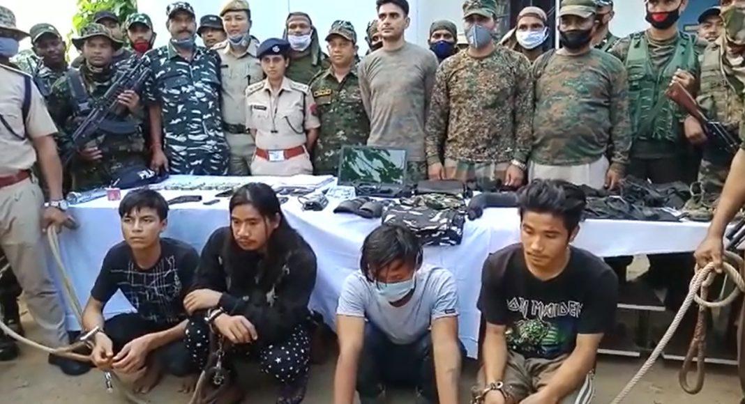 PDCK militants in Assam
