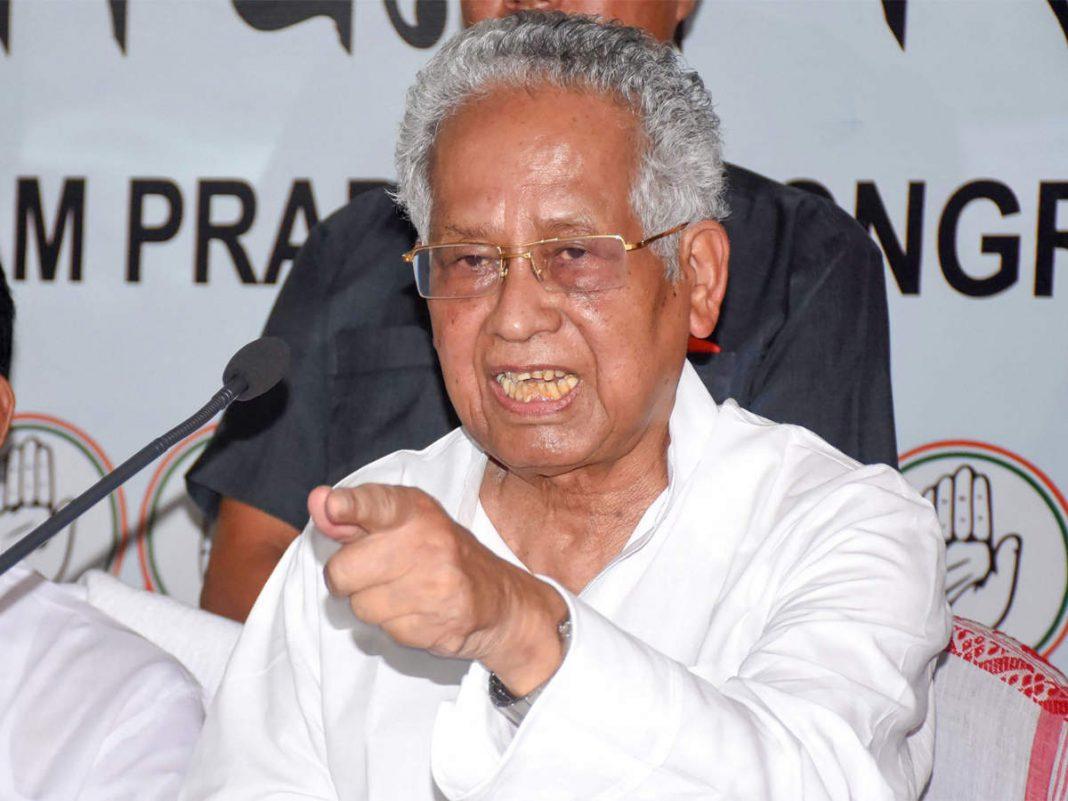 Former Assam CM Tarun Gogoi hit out at BJP