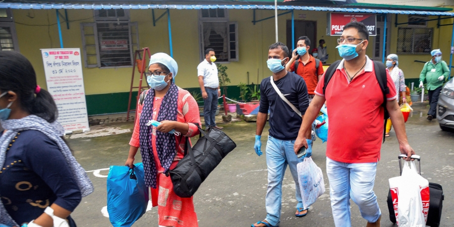 Assam COVID-19 cases in last 5 days