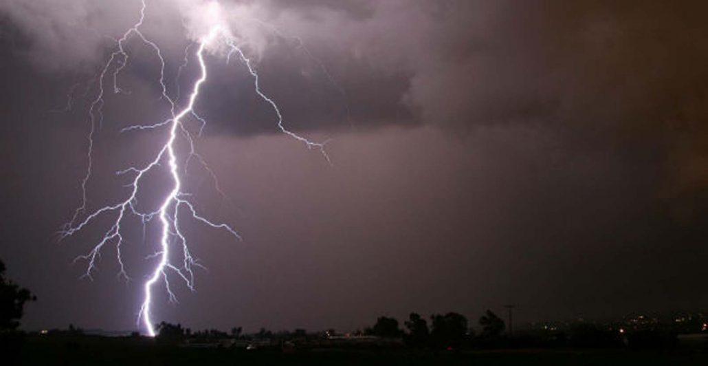 Five killed in a lightning strike in Assam