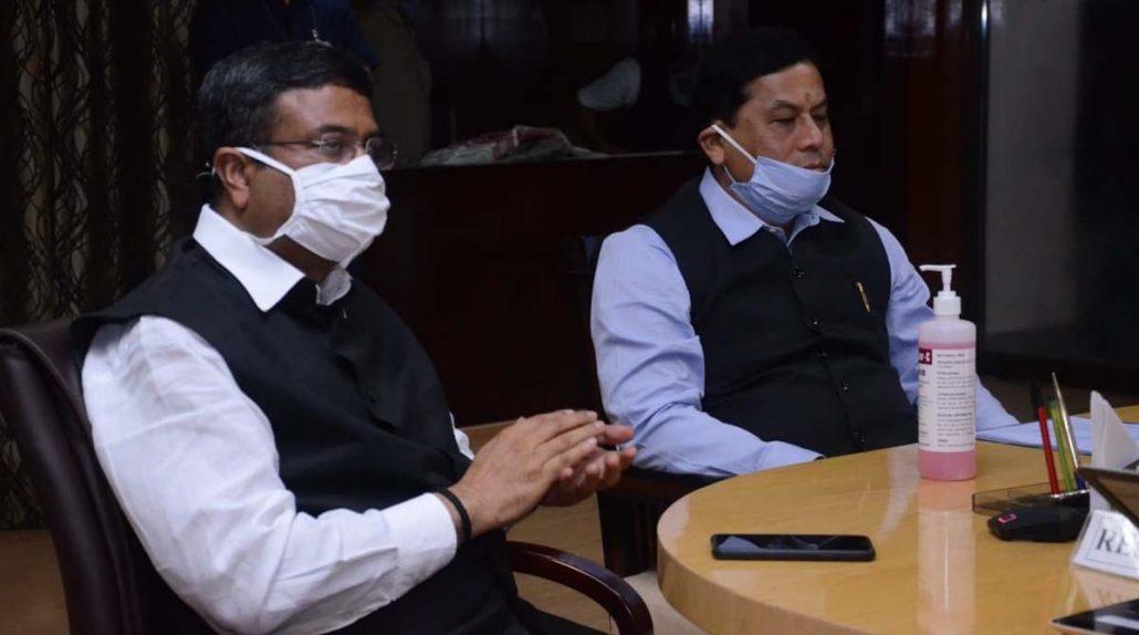 Assam CM Sarbananda Sonowal visit Baghjan
