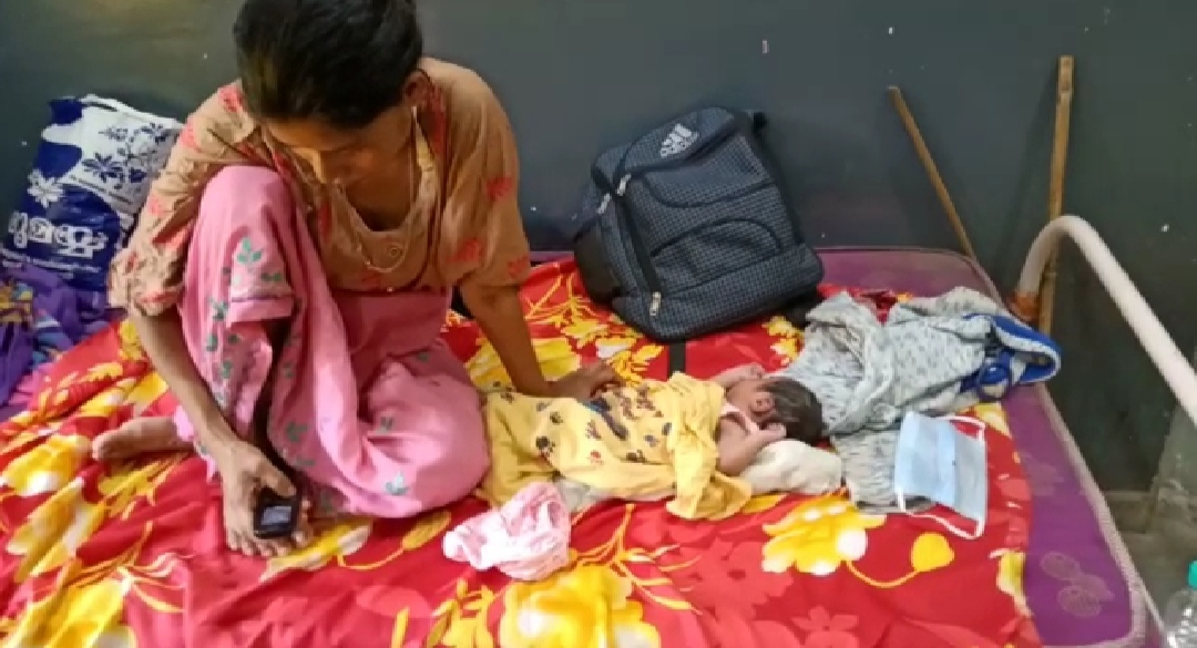 Assam woman gives birth to baby on Shramik special train