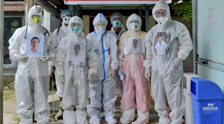 Doctors in Arunachal bring human touch to PPE kits