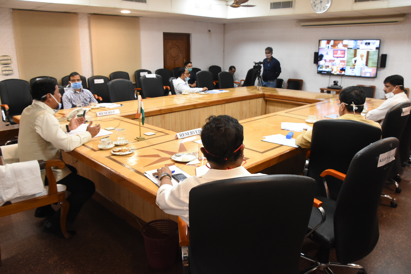PM Modi reviews Baghjan gas well fire incident over video conference