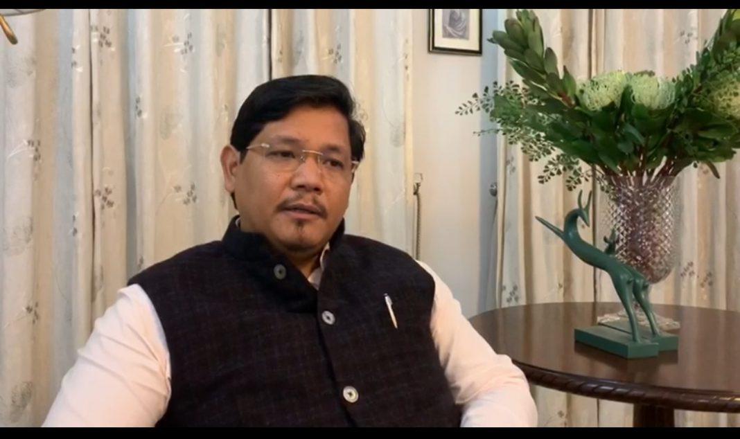 Reaction of Meghalaya CM on Manipur rift