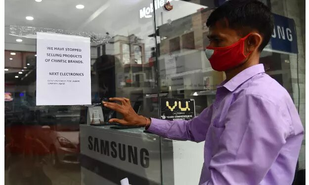 Electronics showroom in Guwahati stops sale of Chinese product