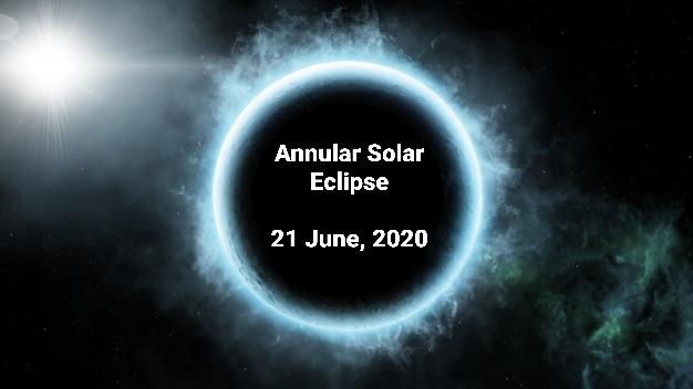 Solar eclipse amid COVID-19 pandemic