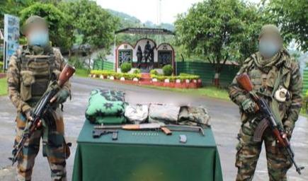 Assam Rifles busted a hideout of NSCN-KK