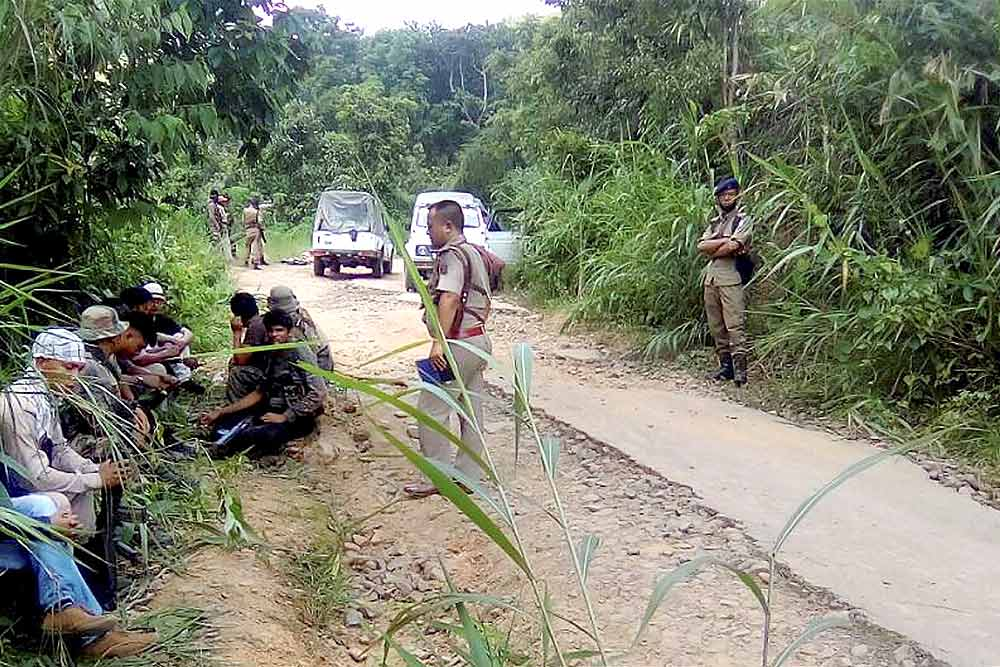 Nagaland imposes total lockdown in Mon district