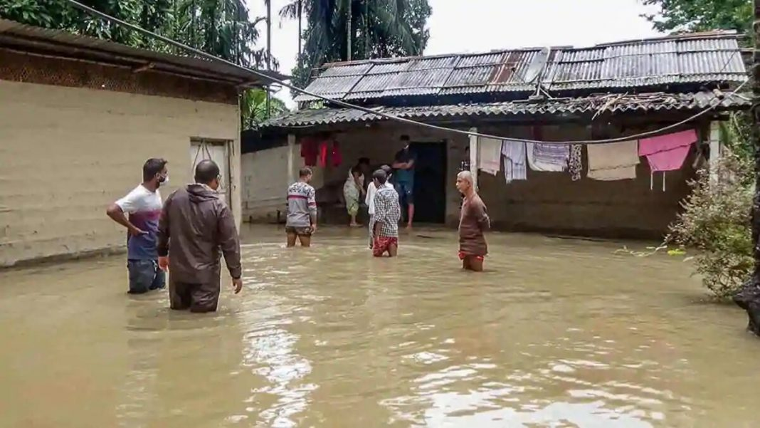 People of 7 districts affected from flood in Assam