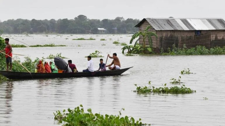Over 2.20 lakh people affected in Assam flood