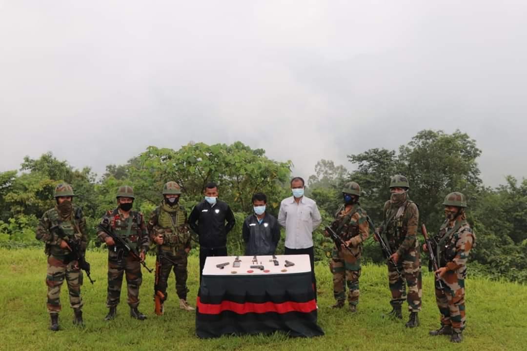 Security forces nab four ULFA-I militants