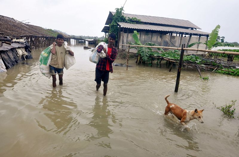 4.63 lakh people affected in Assam flood