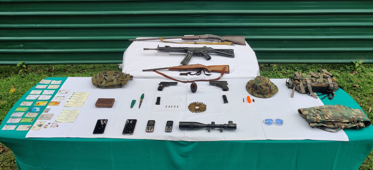 Security forces bust NSCN (K-YA) extortion module